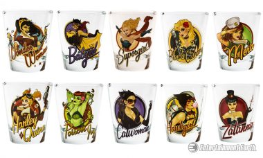 Kickback with the DC Comics Bombshells and Their New Barware