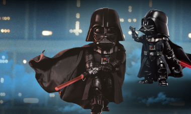 The Dark Side Is in Full Force with Darth Vader Egg Attack Figure