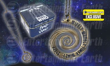 Can You Feel the Wibbly Wobbly Timey Wimey Stuff with Exclusive Doctor Who Necklace?