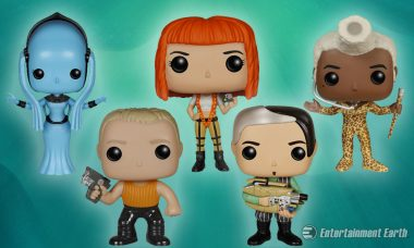 There Is No Future Without Fifth Element Pop! Vinyl Figures