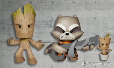 Best Friends from Guardians of the Galaxy Become Deluxe Vinyl Figures