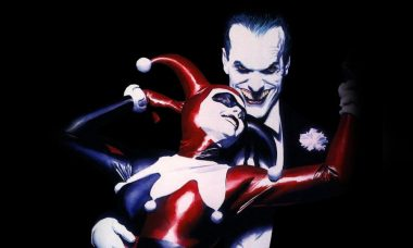 Batman Interrupts Joker and Harley Quinn in New Alex Ross Art
