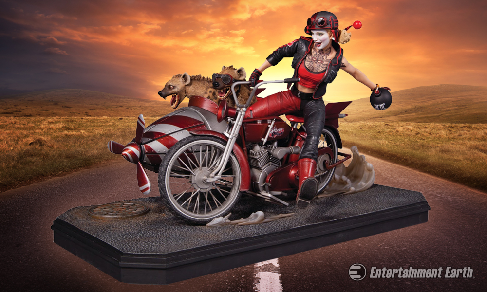 Harley Quinn S Joined By Her Babies For A Motorcycle Ride
