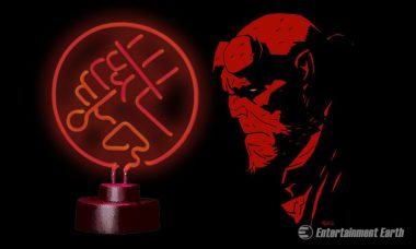 Join Hellboy and the BPRD with Epic Neon Sign