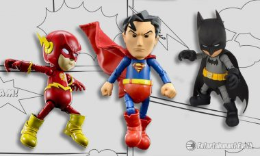 Tiny DC Hero Figures Are Metal, Stylized, and Ready for a Fight