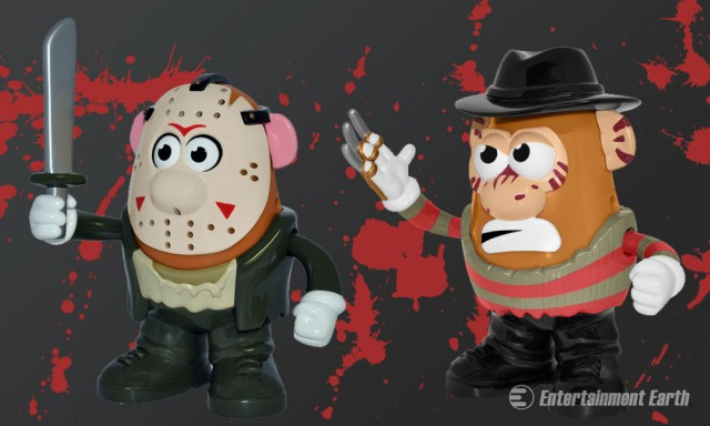 Horror Potato Heads