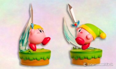 Get Adventurous with Colorful Kirby Statue