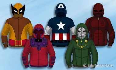 Become Daredevil, Loki, and More with Marvel Costume Hoodies