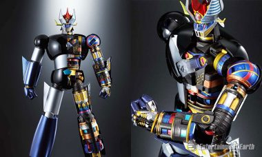 Great Mazinger Die-Cast Action Figure Looks Great Inside and Out