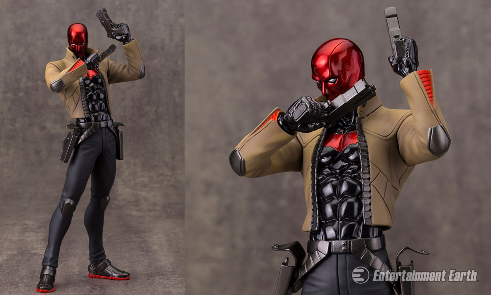Red Hood Makes His Com...