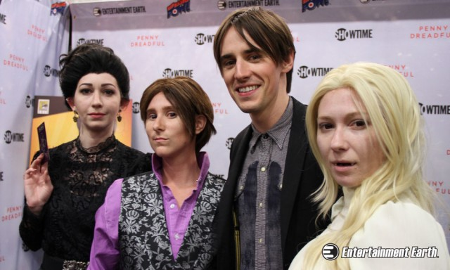 Reeve Carney SDCC