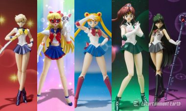 In the Name of the Moon, Sailor Moon SH Figuarts Action Figures Are Awesome