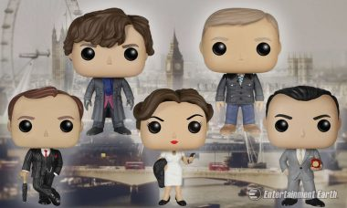 New Sherlock Pop! Vinyls Are the Figures You Need for the Cryptic 21st Century