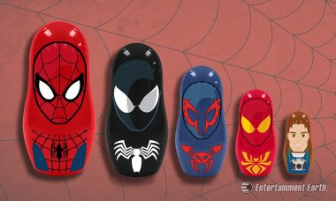 Pick Your Favorite Costume with Spider-Man Nesting Dolls