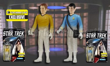 Beam Funko Exclusive Figures Straight from Starfleet into Your Collection