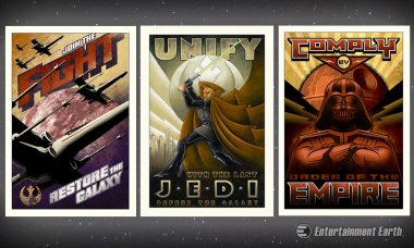 Choose Your Side with New Star Wars Prints: Rebel Alliance, Jedi, or Empire