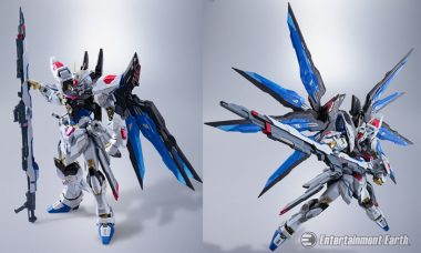 Pilot the Strike Freedom Gundam Die-Cast Metal Figure Straight Into Your Collection