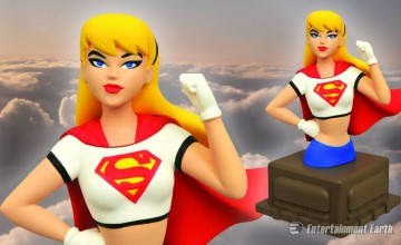 Supergirl Animated Bust
