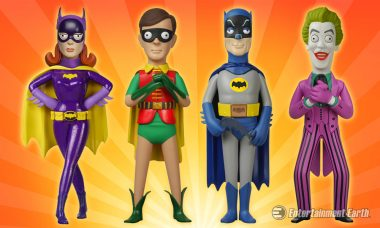 Batman 1966 Vinyl Idolz Are Ready to Crime Fight Their Way Into Your Collection