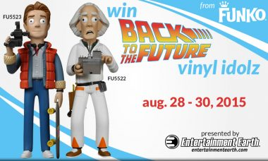 Funko Friday Giveaway: Back to the Future Vinyl Idolz
