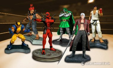 New Epic Statues Ask the Question: Marvel or Capcom?