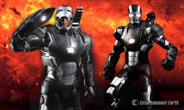 Tony Stark and James Rhodes Suit Up as Light-Up Die-Cast Metal Figures