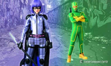 Kick-Ass and Hit Girl Action Figures Are Ready to Take Some Names