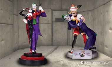 Harley and Mr. J Get a Repaint with These Deranged Resin Statues