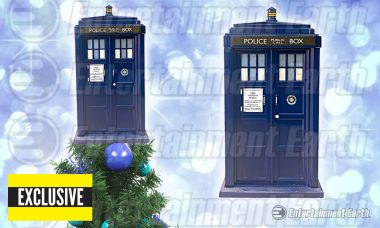 Celebrate the Holidays in Whovian Style with Exclusive TARDIS Tree Topper