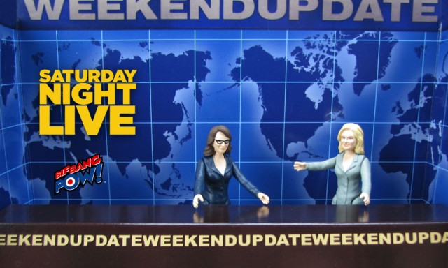 Amy Poehler and Tina Fey Weekend Update Action Figures