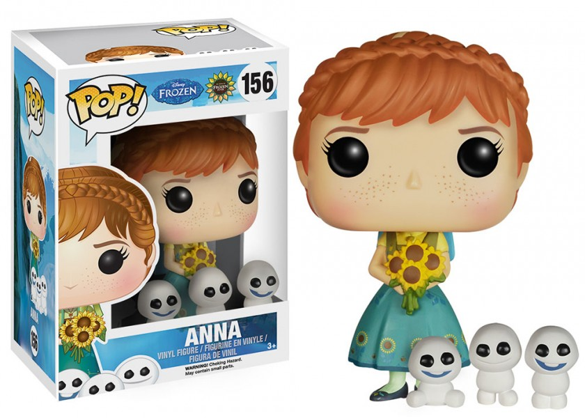 Frozen Fever Anna Pop! Vinyl