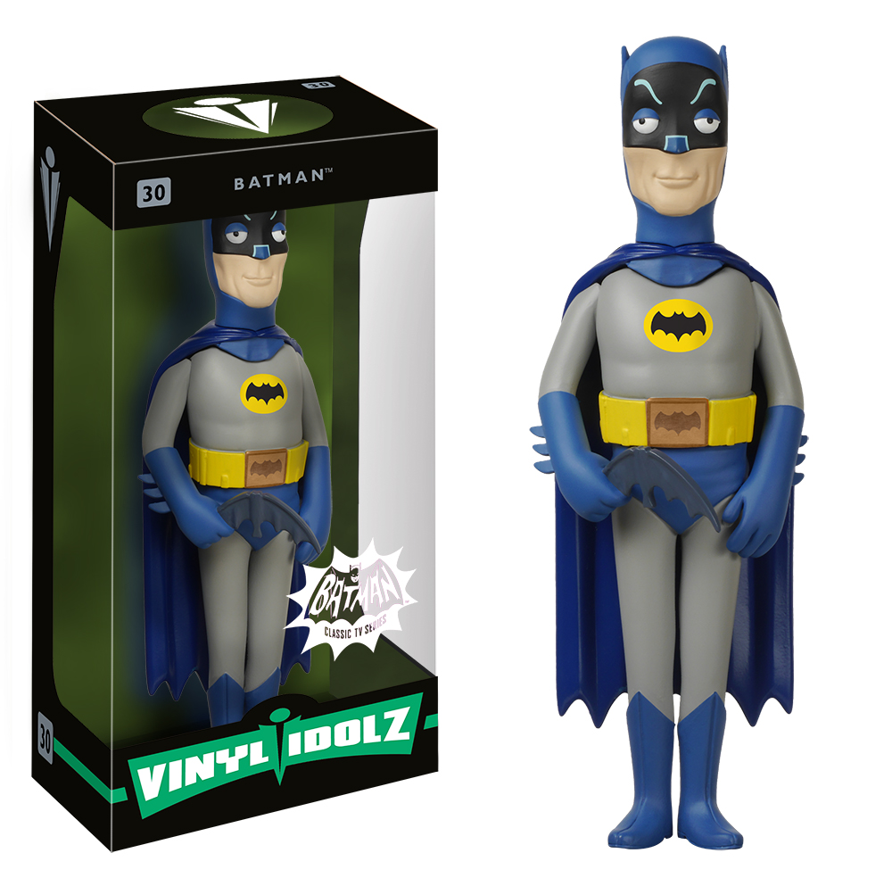 Batman 1966 Vinyl Idolz Are Ready To Crime Fight Their Way