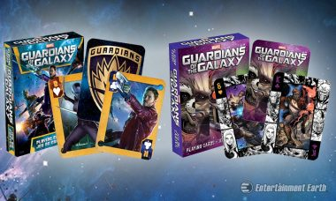 Come and Get Your Guardians of the Galaxy Playing Cards