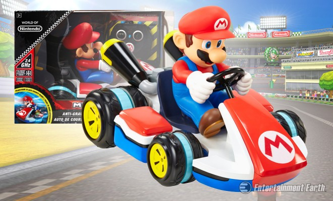 mario kart remote control car manual