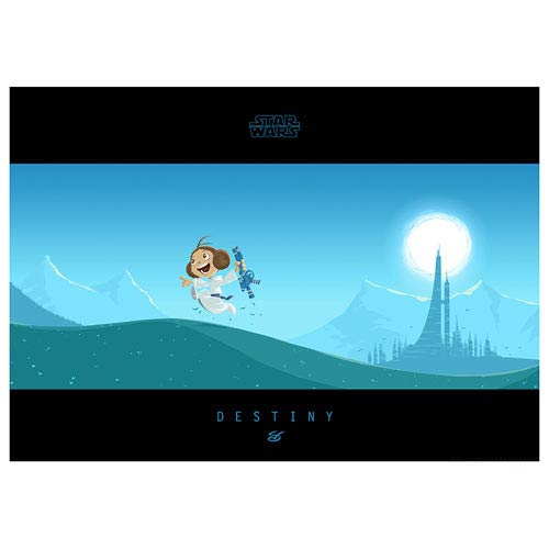 Star Wars Little Leia's Destiny Paper Giclee Print