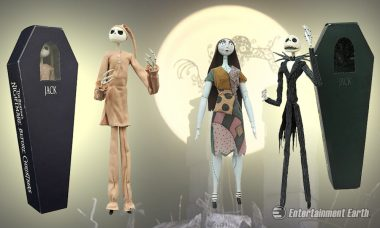 Visit the Holiday Worlds of Old with The Nightmare Before Christmas Action Figures