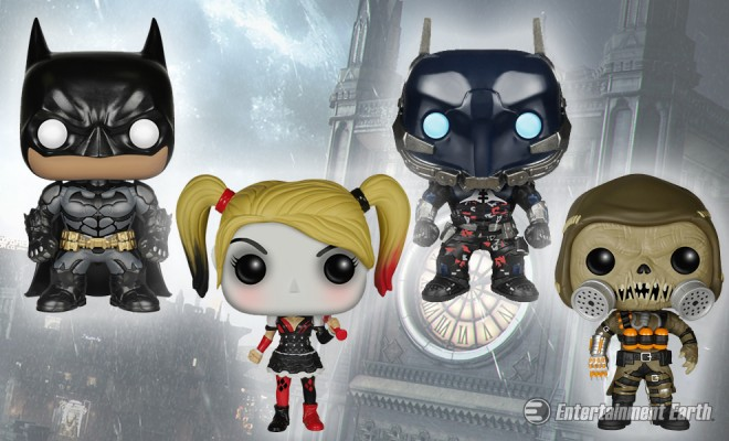 On The Streets Of Gotham Batman Arkham Knight Pop