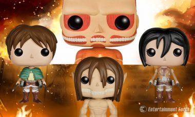 Colossal Attack on Titan Pop! Vinyl Figures Launch an Assault on Your Collection