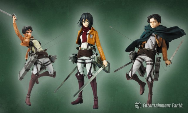 Attack on Titan Real Action Heroes Figures