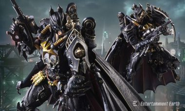 Transcend Time and Space with This Steampunk Batman Action Figure