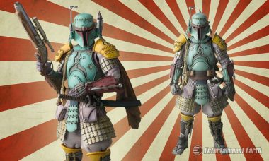 Boba Fett Reimagined as Samurai Ronin in Medieval Japan