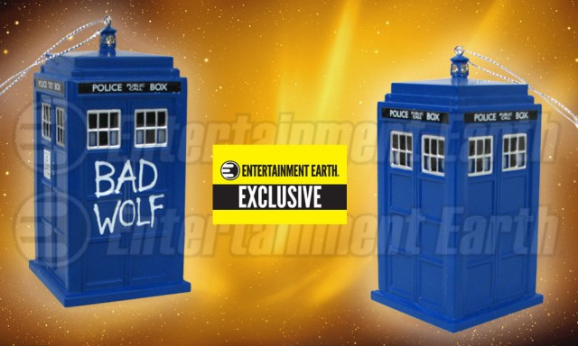 Doctor Who Bad Wolf TARDIS Exclusive Ornament