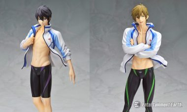 Swim Away with New Statues from the Hit Anime Series Free!