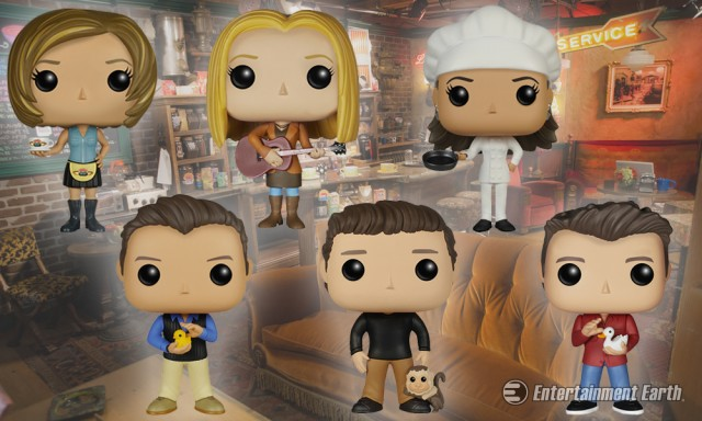 Friends Pop! Vinyl Figures