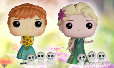 Celebrate Princess Anna's Birthday with Frozen Fever Pop! Vinyl Figures