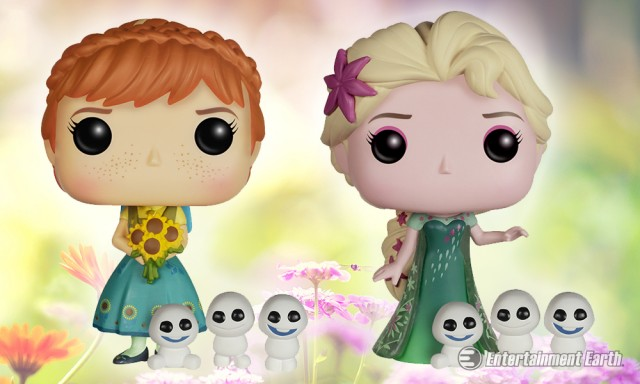 Frozen Fever Pop! Vinyl Figures