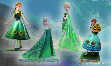 Today's a Blast in Arendelle with New Frozen Fever Statues