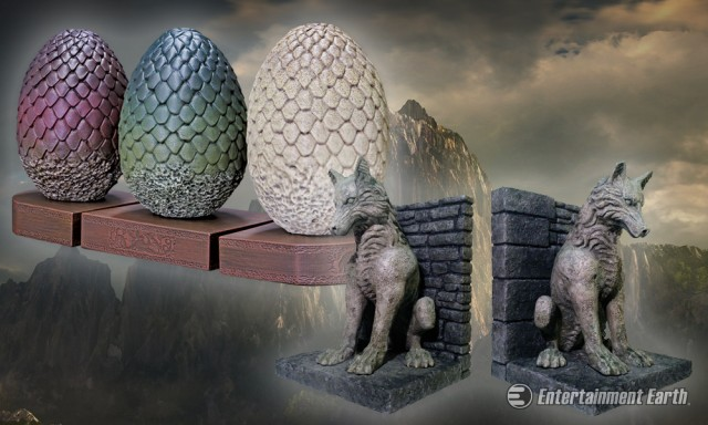 Decorate Your Castle With The Finest Game Of Thrones Bookends