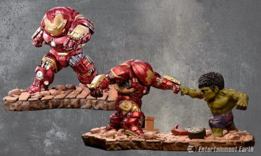 Hulkbuster's Ready to Rumble as Two New Egg Attack Statues
