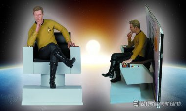 Captain Kirk Is Ready to Boldly Go Read as New Star Trek Bookend